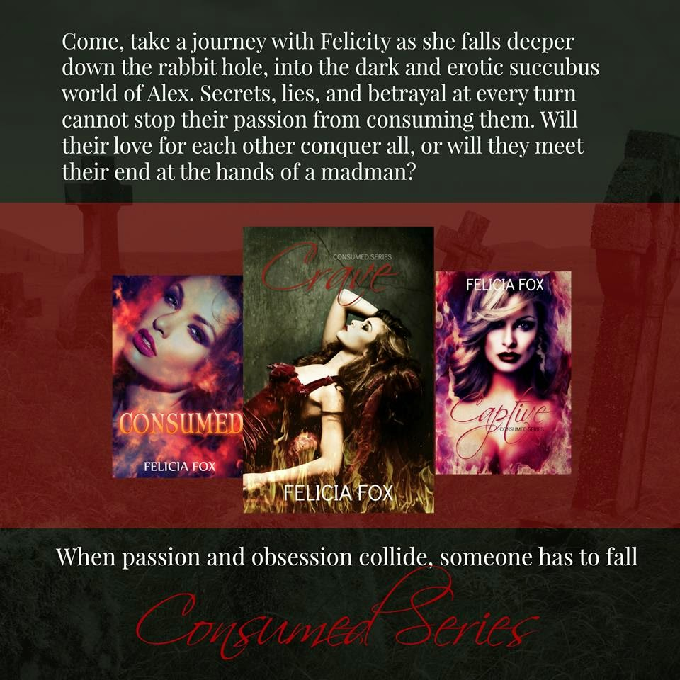 Felicia Fox 4-5 stars for the consumed seriesfelicia fox – #f/f #f/f